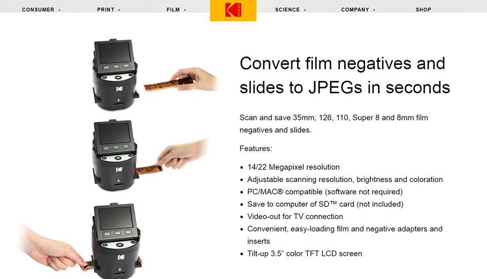 Kodak Scanza – Film Scanner